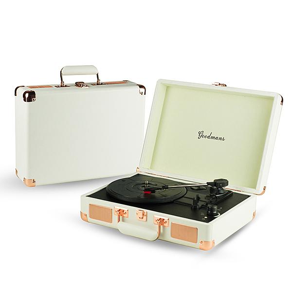 【福利品】Goodmans Ealing Turntable 英國手提箱黑膠唱片機