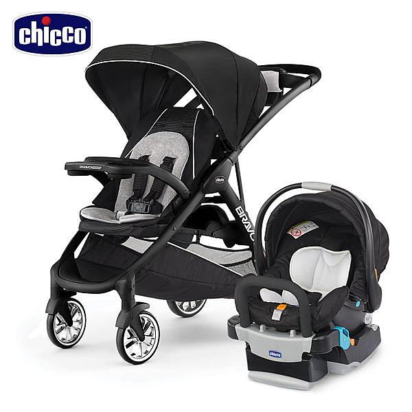Chicco Bravo 極致完美手推車 + KeyFit 手提汽座