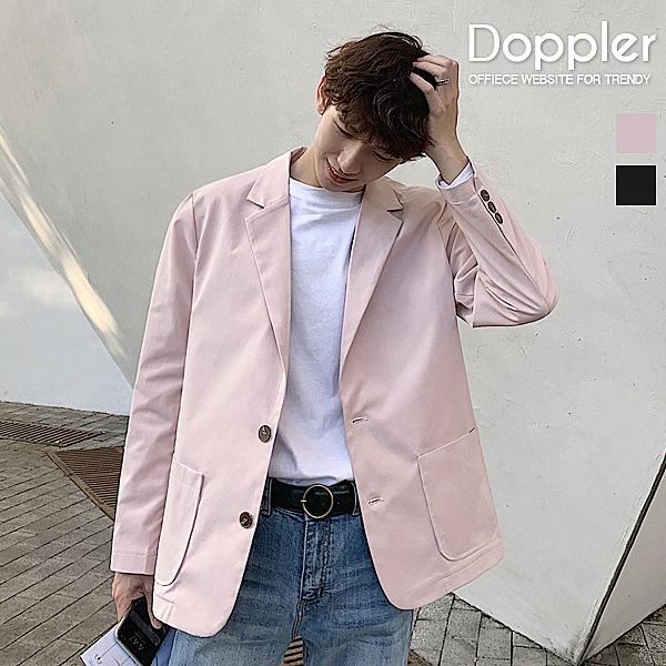 西裝外套 韓系休閒單排扣西裝外套【TJW8006】Doppler 現貨+預購