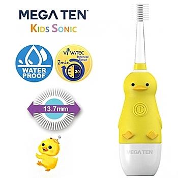 【愛吾兒】日本 Vivatec Mega Ten幼童電動牙刷-可愛小鴨