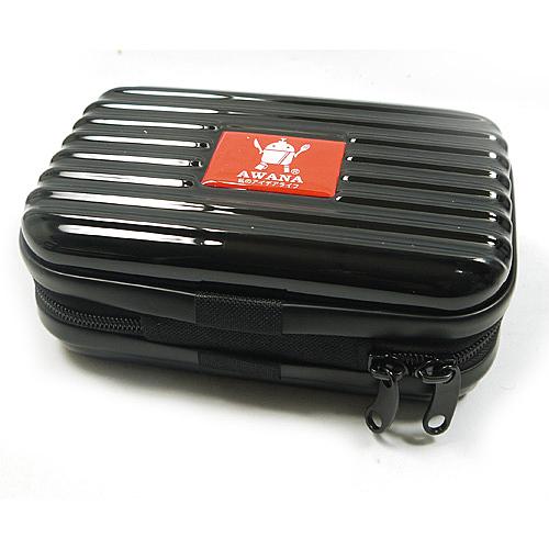 AWANA多功能輕巧ABS/PC硬殼過夜包盥洗包