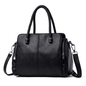女性2019サック、ブラックハンドバッグ高品質クロスボディハンドバッグカジュアルトートバッグレザーの高級ハンドバッグの女性のバッグ