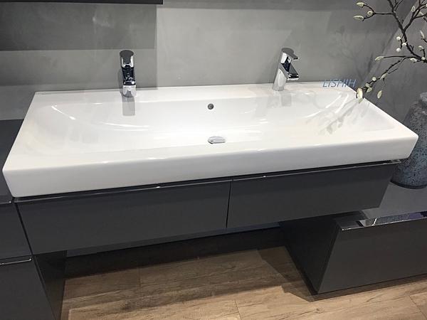 【麗室衛浴】德國 GEBERIT ICON系列 120 x 48.5cm 單槽面盆