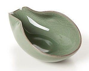 龍泉青瓷 哥窯開片茶勺