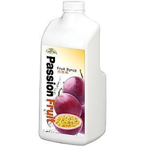 【綠盟】福樹牌 百香果濃糖果汁- 2.5kg/瓶(有效期限:2021/7/20)--【良鎂咖啡精品館】