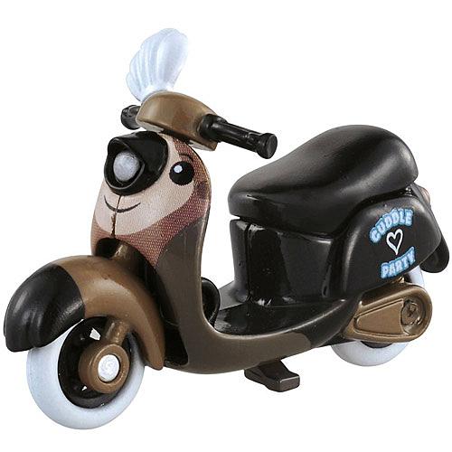 TOMICA 迪士尼小汽車 Chim Chim摩托車