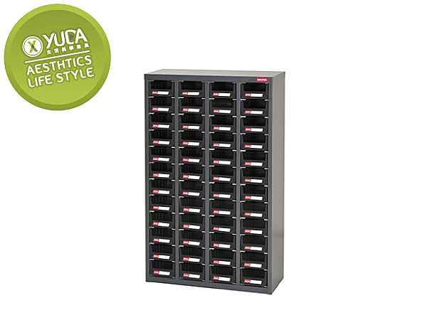 【YUDA】樹德櫃 CA7-448 (48抽/附隔板) 抗靜電導電專業零件櫃 / 收納櫃 / 文件櫃 新竹以北免運費