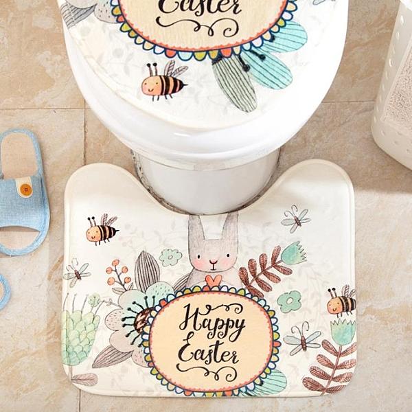[超豐國際]卡通馬桶蓋套廁所馬桶圈套子歐式馬桶墊坐便器罩加厚坐便套