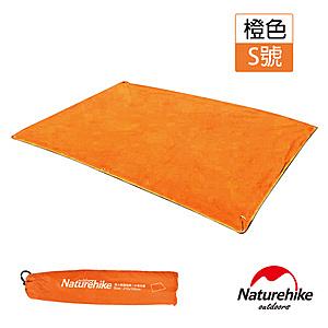 Naturehike 戶外6孔帳篷地席 天幕帳布 S號 橙色