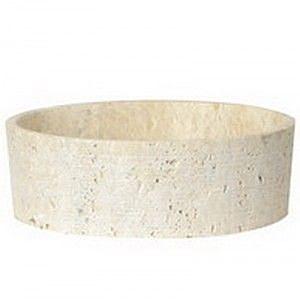 【麗室衛浴】卡露米瓊石 外糙內拋光 大理石面盆 wcl 3612bt 期貨訂製品