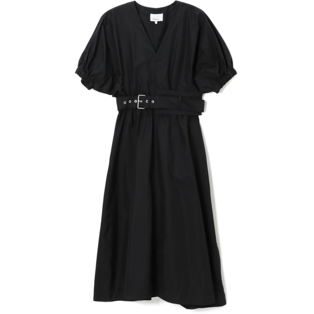 3.1 PHILLIP LIM(3.1 フィリップ リム)/PUFF SLEEVE BELTED DRESS