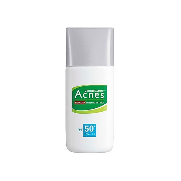曼秀雷敦 Acnes 藥用美白UV潤色隔離乳(SPF50+)30g【小三美日】