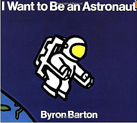 【麥克書店】I WANT TO BE AN ASTRONAUT /單繪本