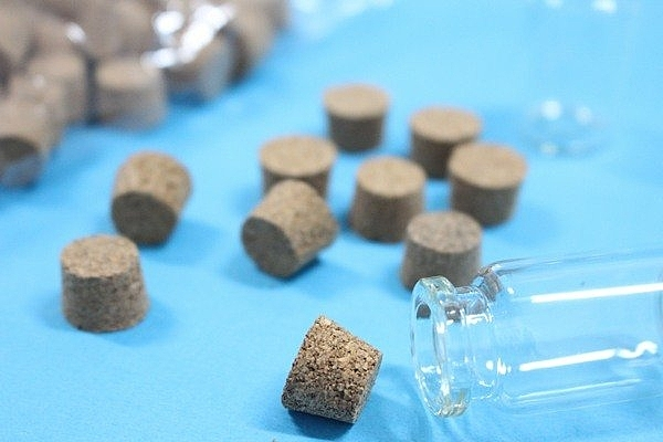 軟木塞 玻璃罐軟木塞 玻璃瓶軟木塞 星沙瓶軟木塞 瓶中信軟木塞(不含瓶子)/一袋100個入