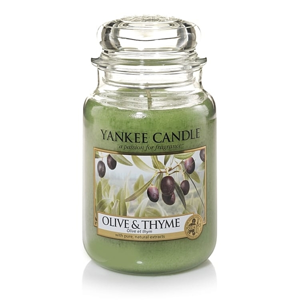 Yankee Candle蠟燭 olive & thyme YCE082