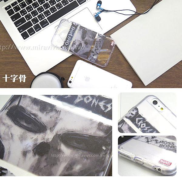 【MARVEL】iPhone 6/6s《美國隊長3:英雄內戰》透明保護軟套◆贈送!防水防塵塞◆