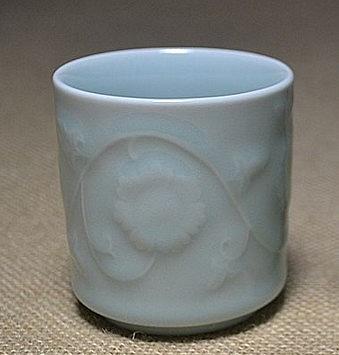 【協貿國際】青瓷太陽杯酒杯茶杯水杯旅行杯花卉器