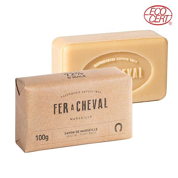 Fer à Cheval 法拉夏 經典馬賽皂(植物油-長方形) 100g【新高橋藥妝】