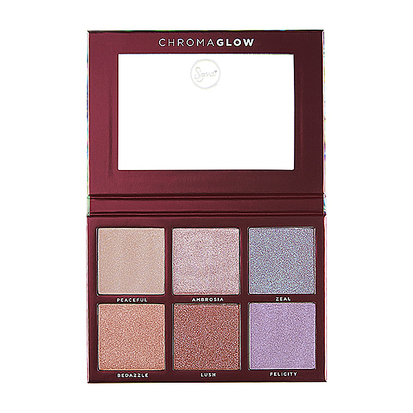 Sigma 6色打亮修容盤 28.14g Chroma Glow Shimmer Highlight Palette