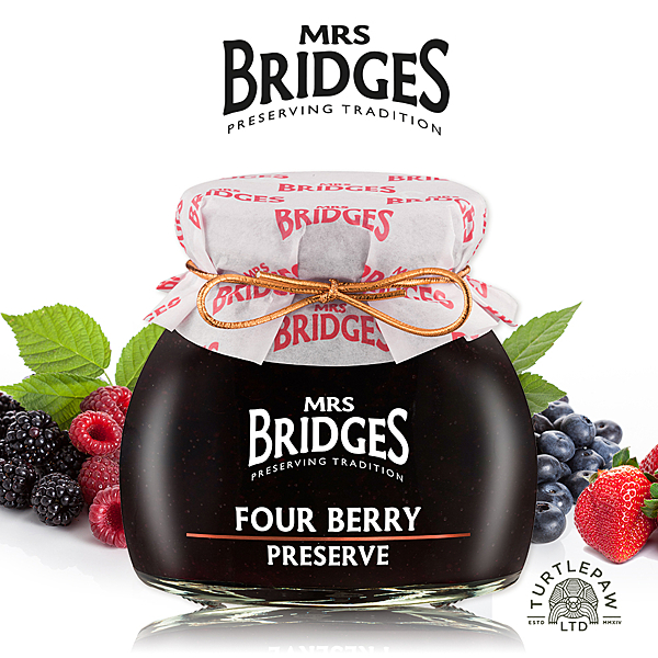 【MRS. BRIDGES】英橋夫人莓果四重奏綜合果醬(小)113g