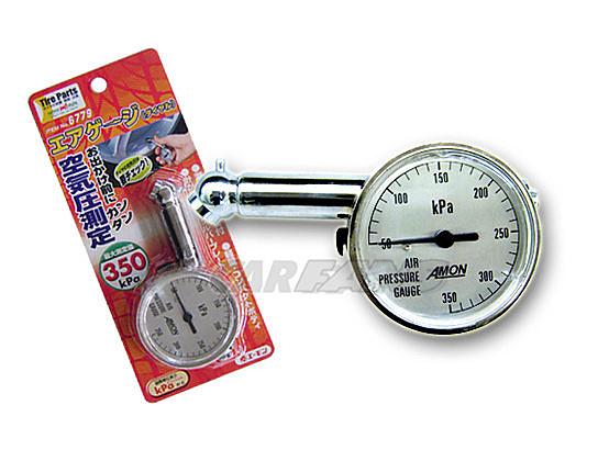 【愛車族購物網】6779 胎壓計(錶型)