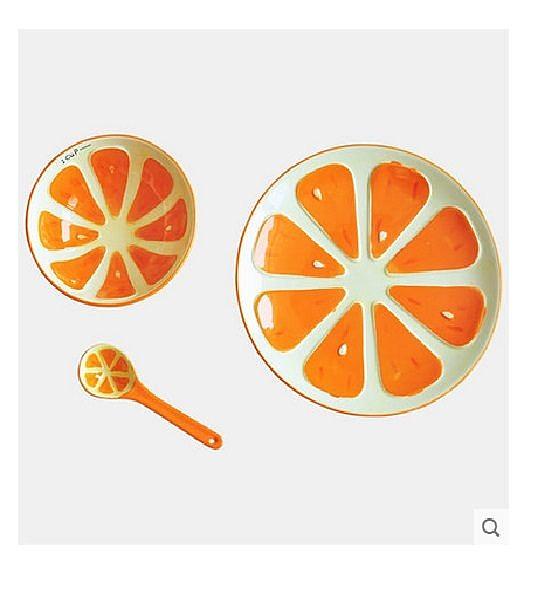 水果碗西餐盤子.(西柚)