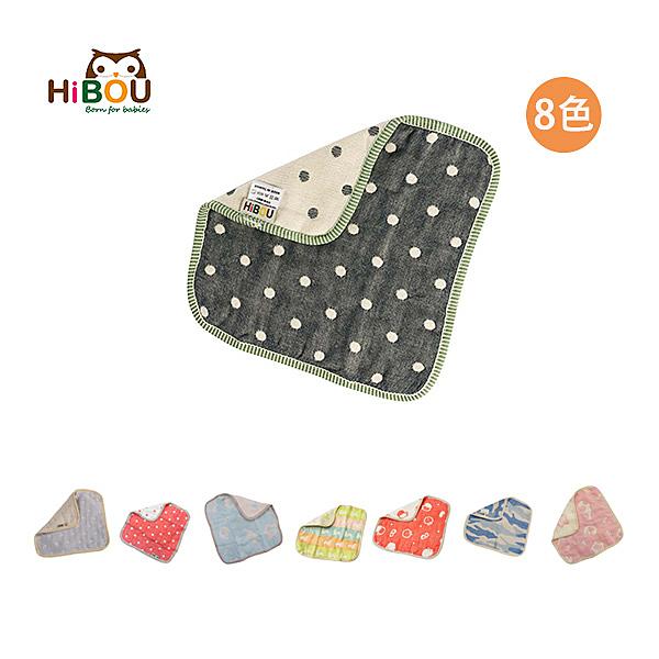 Hibou 六層紗四方萬用巾/手帕