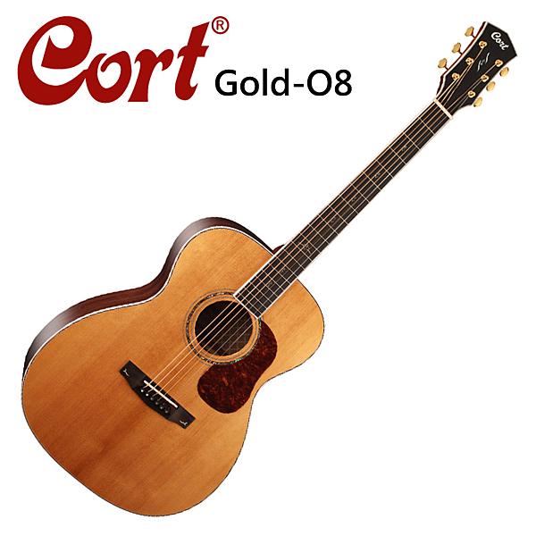 ★Cort★Gold-O8嚴選西岸雲杉木面單板木吉他