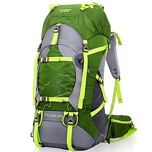 【PUSH! 戶外休閒登山用品】40L 登山包 旅行背包 U13-2綠色