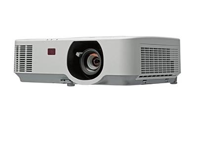 贈投影機吊架《新竹 竹北名展影音》恩益禧 NEC P554W節能商務/教育多功能液晶投影機