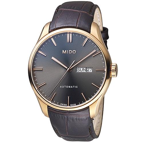 MIDO美度錶 Belluna Gent系列時尚紳士腕錶 M0246303606100