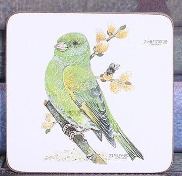 雜貨美式鄉村復古 創意木質隔熱墊(三個價)09