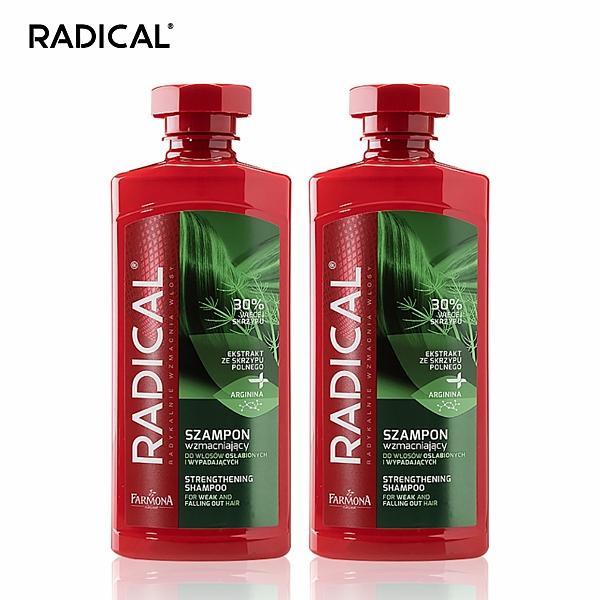 RADICAL - 調理洗髮露 400ml (2入組) (共6款) 馬尾草/菩提樹花/銀杏/小麥籽粒/白柳/鼠尾草