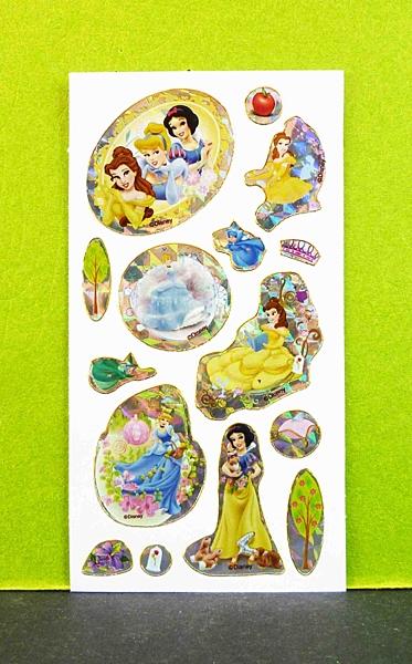 【震撼精品百貨】公主 系列Princess~造型貼紙-綜合公主B