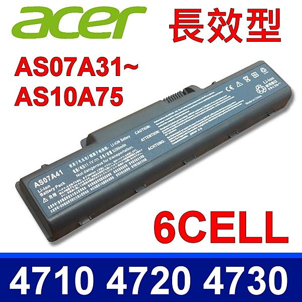 宏碁 Acer AS07A31 原廠規格 電池 Aspire AS4230, AS4235, AS4310, AS4315-2904, AS4315, AS4315-2904,