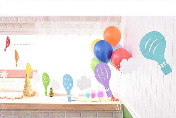 【韓風童品】紙質氣球云朵生日派對裝飾 戶外露營裝飾 節慶佈置 宴會佈置  拍照背景掛飾