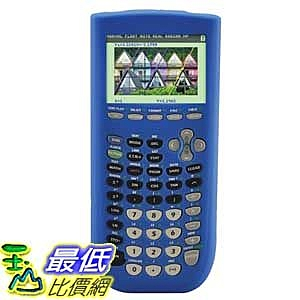 [美國直購 ShopUSA] 保護套 Guerrilla Blue Silicone Case For Texas Instruments TI 84