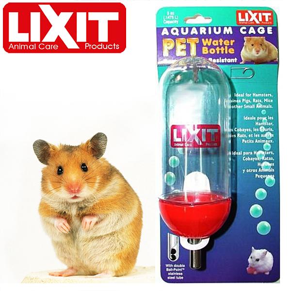 金德恩 LIXIT 防啃咬鋼珠飲水器(300cc)/ 齧齒類小動物專用AC-10 BT