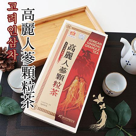高麗人蔘生產大國 韓國特色茶飲輕鬆喝得到 細緻顆粒容易溶解 50入精緻木盒裝 送禮超得體