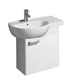 【麗室衛浴】德國 KERAMAG RENOVA系列 盆櫃組 右平檯 70*40CM 122170
