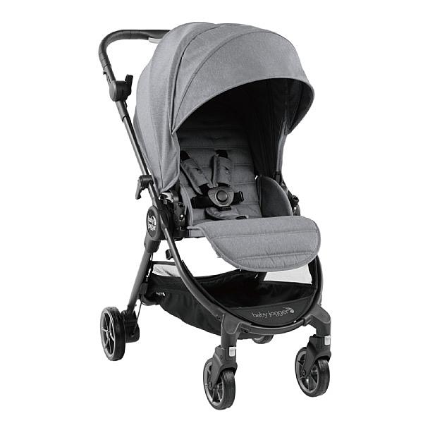 美國 baby jogger city tour Lux 全能旅行推車-淡雅灰