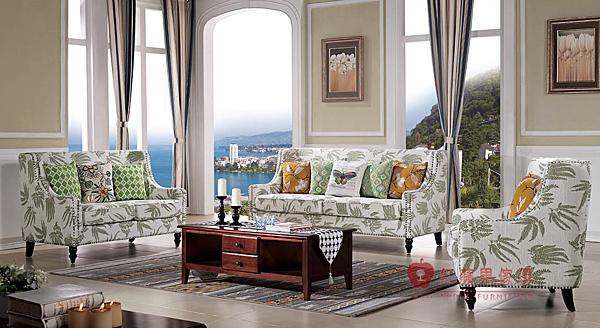 [紅蘋果傢俱] 729 恬園風沙發系列 沙發組 鄉村風沙發 L型 布沙發 皮沙發 英式沙發 客廳  工廠直營