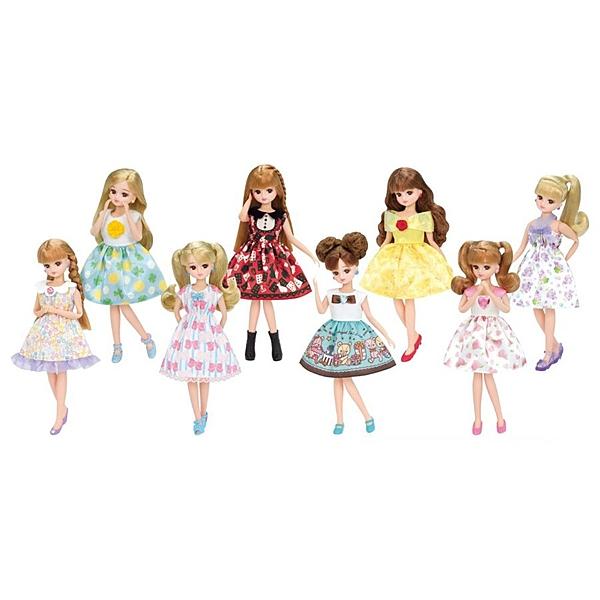 LICCA 莉卡娃娃  繽紛扮裝洋裝(多款式隨機出貨)