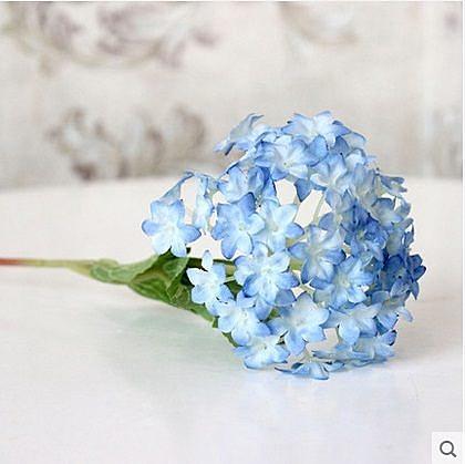 舒格蘭小繡球花仿真裝飾擺件5個組(圖一)06