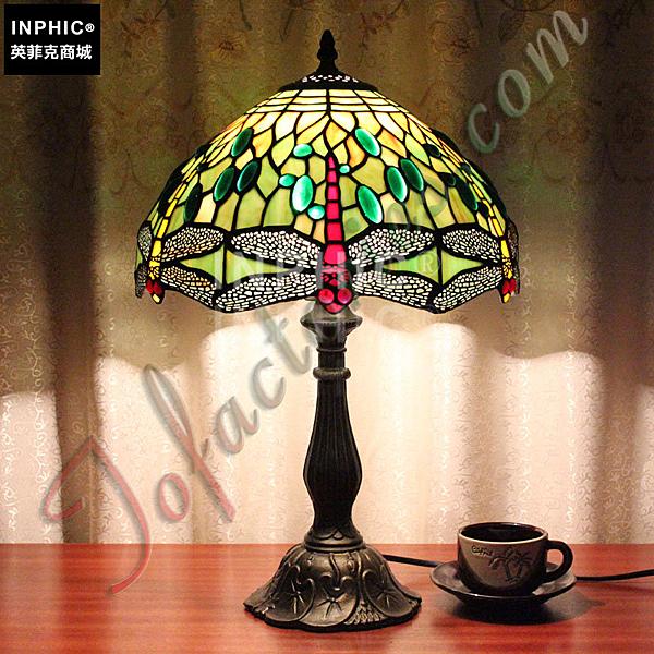 INPHIC-美式鄉村咖啡廳地中海臥室床頭櫃手工檯燈_S2626C
