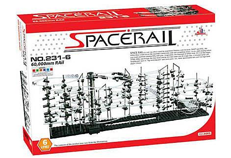 【賽先生科學工廠】Spacerail 曲速引擎 瘋狂雲霄飛車 - 等級 6