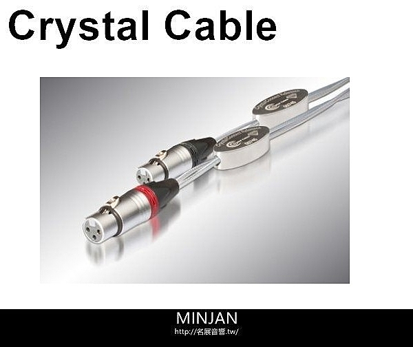 Crystal Cable 訊號線 Reference Diamond (Phono with ground wire) 長度1M (特規版)