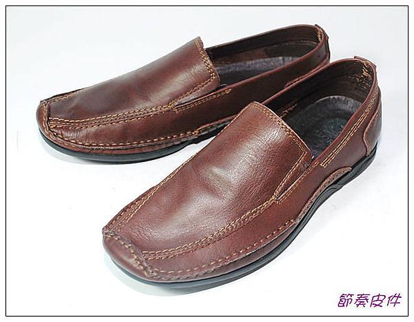~節奏皮件~☆  紳士休閒皮鞋  編號 8107 (咖)