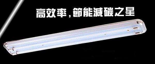 【燈王的店】台灣製 LED T8 4尺雙管美術型 專用燈具 + 電子開關 (燈管另購) ☆ LED-SK40232(DM商品)