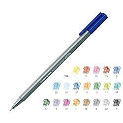 《享亮商城》MS334-3 藍色 三角舒寫細字筆 施德樓